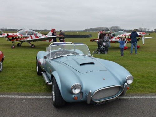 Cliffs Cobra with some distinctive air machines behind