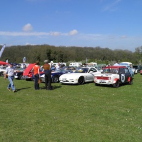 Popham Aerodrome Classic Car Show May 2013