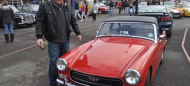Classics on the Quay  _ Shamrock Quay Southampton Feb 2015