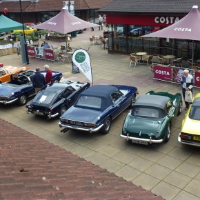 Locks Heath Centre Charity Car Show 2015
